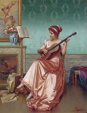 Vittorio Reggianini: Im Musikzimmer