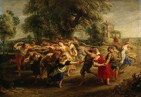 Peter Paul Rubens: Bäuerlicher Tanz