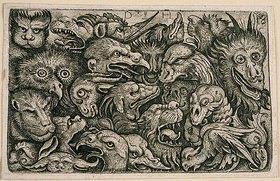 Daniel Hopfer: Köpfe grotesker Tiere