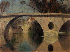 Christian Rohlfs: Die Sternbrücke in Weimar