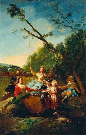 Francisco José de Goya: Die Schaukel