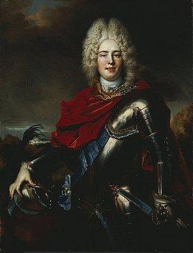 Nicolas de Largilliere: Friedrich August II. (Sachsen) (1696-1763), späterer Augustus III von Polen