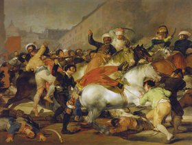 Francisco José de Goya: Der 2.Mai 1808 in Madrid