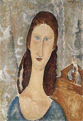 Amadeo Modigliani: Bildnis der Jeanne Hébuterne (Portrait de Jeanne Hébuterne)