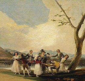 Francisco José de Goya: Das Blindekuhspiel