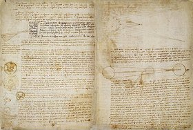 Leonardo da Vinci: Der Codex Hammer, auch bekannt als Codex Leicester (Seiten 49-50)