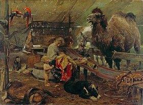 Paul Meyerheim: Morgenstunde im Zirkus. 2. Hälfte des 19. Jahrhunderts