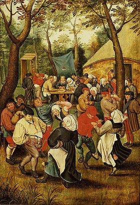 Pieter Brueghel d.J.: Das Hochzeitsfest