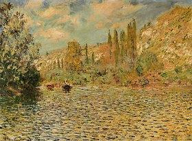Claude Monet: Die Seine bei Vetheuil. / La Seine à Vetheuil