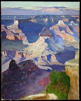 Gunnar Widforss: Grand Canyon