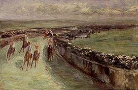 Max Liebermann: Pferderennen
