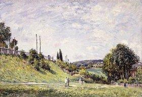 Alfred Sisley: Die Böschung an der Bahnstrecke in Sevres