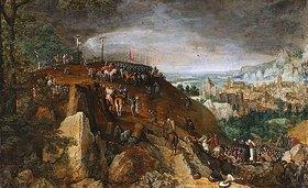 Lucas I. van Valckenborch: Die Kreuzigung Christi