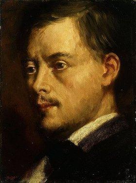 Edgar Degas: Kopf eines Mannes
