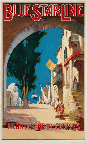 Maurice Randall: Blue Star Line, Mediterranean Cruises