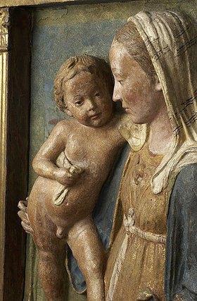 Antonio Rossellino: Muttergottes mit Kind. Florenz, 3. Viertel 15. Jh