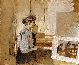 Edouard Vuillard: Frau im Atelier (Femme dans l'Atelier)