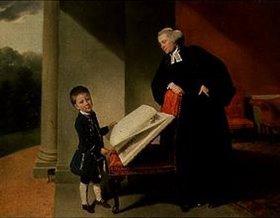 Johann Zoffany: Bildnis des Reverend Randall Burroughs und seines Sohnes Ellis