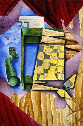 Juan Gris: Backgammon (Le Jacquet)