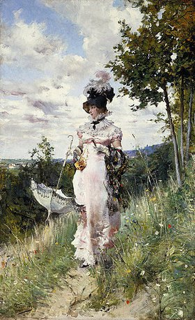 Giovanni Boldini: Ein Sommerspaziergang