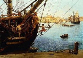 Gustave Bourgain: Die Instandsetzung des Schiffes