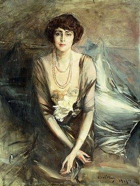 Giovanni Boldini: Mrs. George McFadden