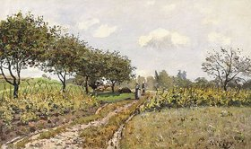Alfred Sisley: Die Landstraße (La Chemin dans la Campagne)