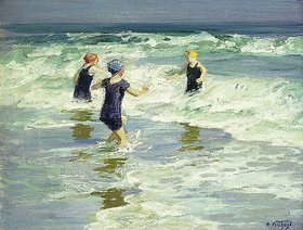 Edward Henry Potthast: Three of a Kind