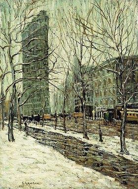 Ernest Lawson: Das Flatiron Building