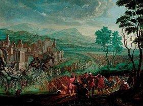 Josef van Bredael: Der Fall der Mauern von Jericho