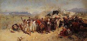 Nikolai Semenovich Samokish: Schiitische Muslime gedenken dem Märtyrertod von Hussein