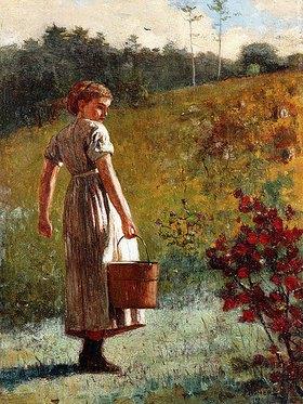 Winslow Homer: Auf dem Rückweg von der Quelle