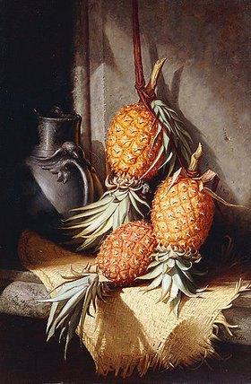 Frederick Stone Batcheller: Stillleben mit Ananas