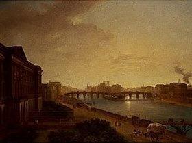 Louise J.Sarazin de Belmont: Paris, Blick zur Ile de la Cite