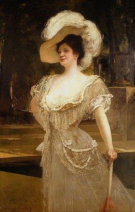 (Jean Joseph) Benjamin Constant: Mrs. Charles Yerkes