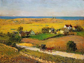 William James Glackens: Landschaft in New England