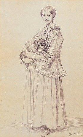 Jean Auguste Dominique Ingres: Mademoiselle Marie Reiset, spätere Vicomtesse Adolphe-Louis-Edgar de Segur-Lamoignon