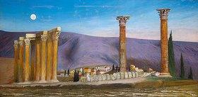 Tivadar Csontváry-Kosztka: Die Ruine des Zeus-Tempels in Athen