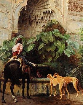 Jean-Léon Gérome: Nach der Jagd (Le Retour de la Chasse)