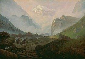 Carl Gustav Carus: Hochgebirgstal