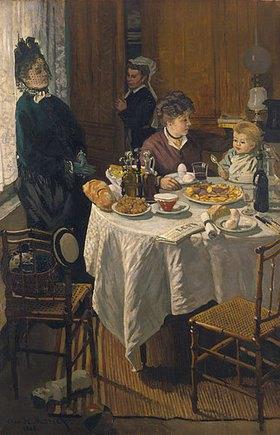 Claude Monet: Das Frühstück (Le Déjeuner)