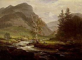 Johan Christian Clausen Dahl: Berggegend
