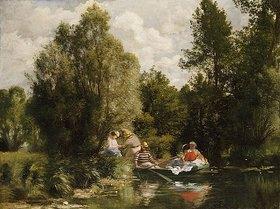 Auguste Renoir: Der Teich bei Fees. / La Mare aux Fees
