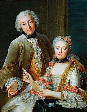Charles Antoine Coypel: Francois de Jullienne mit seiner Ehefrau