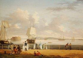 Thomas Birch: Die Battery und der Hafen von New York