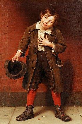 John George Brown: Bettlerjunge