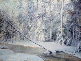 Walter Launt Palmer: Winterlandschaft mit geknicktem B