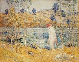 Frederick Childe Hassam: Badende an einem Flussufer