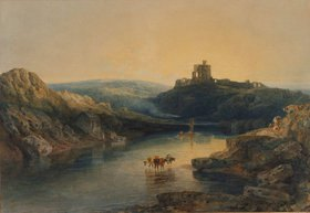 Joseph Mallord William Turner: Morgenstimmung am Norham Castle