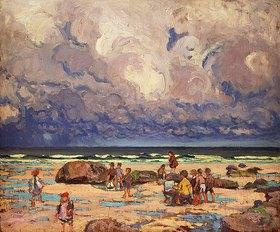 William Samuel Horton: Kinder am Strand